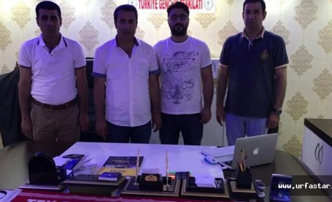 Yavuz, TGT Urfa Teşkilatını ziyaret etti
