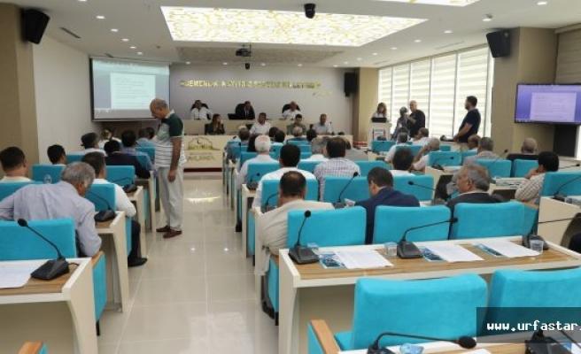 Yeni meclis salonu açıldı…