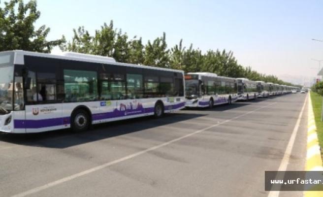 Büyükşehir'den 65 Adet Yeni Otobüs