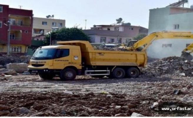 Ceylanpınar'daki caminin temelini ilçe belediyesi attı