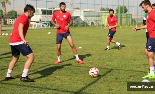 Karaköprü Belediyespor lig maçına hazır