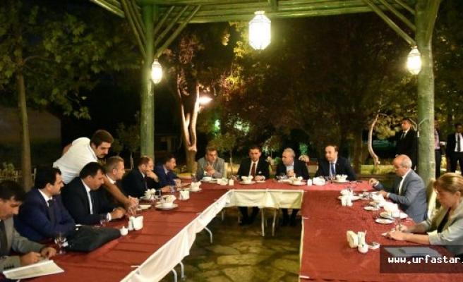 Urfa'nın iki sorunu masada