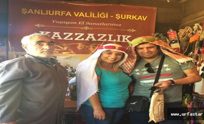 Başkentte yoğun ilgi gören Urfa standı