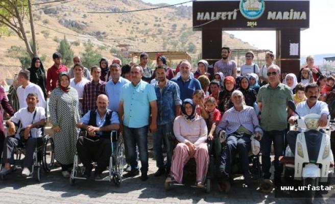 Engelliler Halfeti'de stres attı