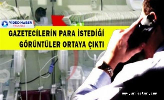 Gazeteciler hastaneye şantaj uyguladı iddiası