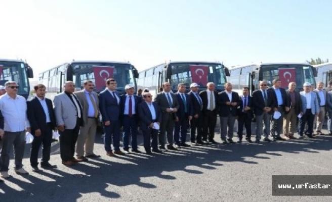 Büyükşehir 10 ilçeye otobüs gönderdi
