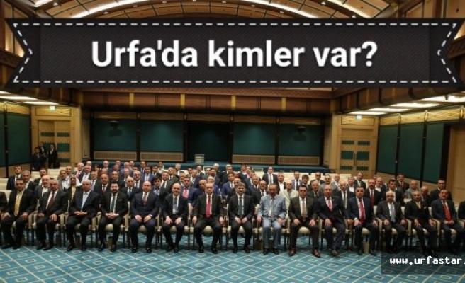 Erdoğan kimleri kabul etti...