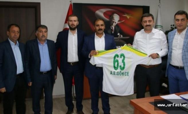Urfaspor'dan DSİ Müdürü'ne ziyaret