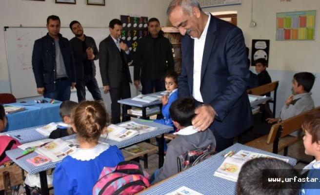 Başkan Bayık'tan, Kırsal Mahalle Okullarına Ziyaret