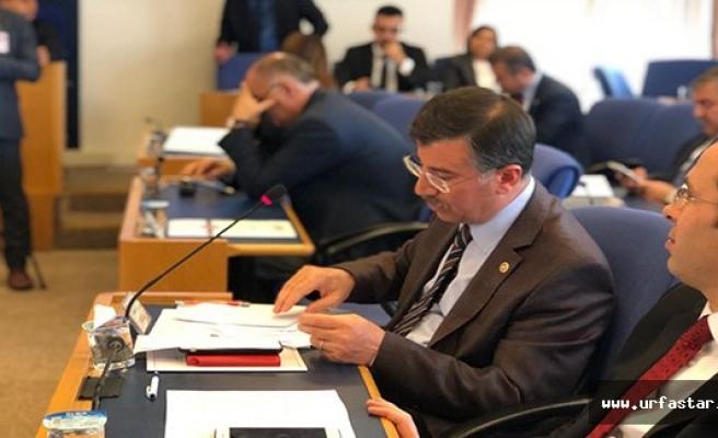 Cevheri plan bütçe komisyonunda konuştu