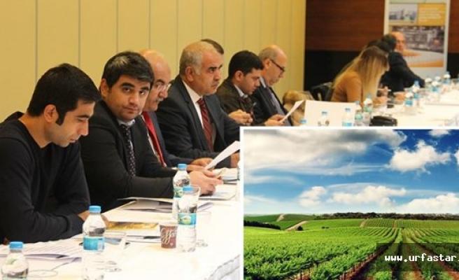 Tarım toplantısına Urfa ev sahipliği yaptı