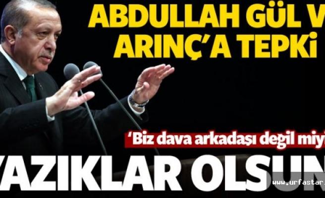 Erdoğan'dan flaş sözler