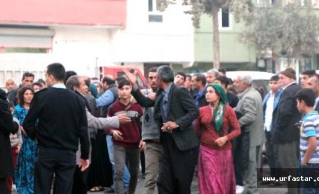 Urfa'da onlarca kişi birbirine girdi..