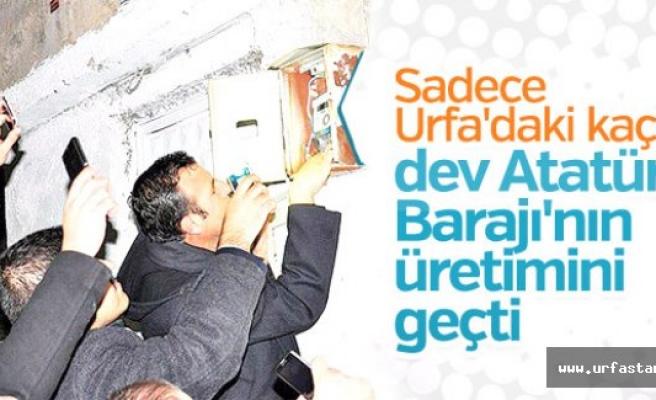 CHP Urfa'yı meclise taşıdı