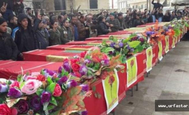 Öldürülen teröristler gömülmeye başlandı
