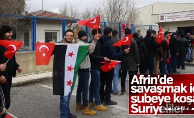 Suriyeli mülteciler askerlik şubesine koştular