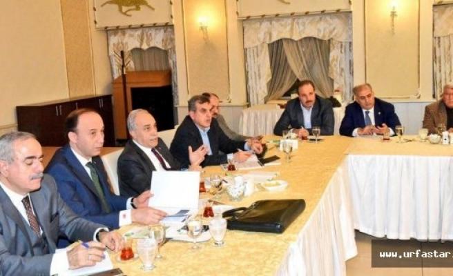 Yılın ilk Urfa toplantısı Ankara'da