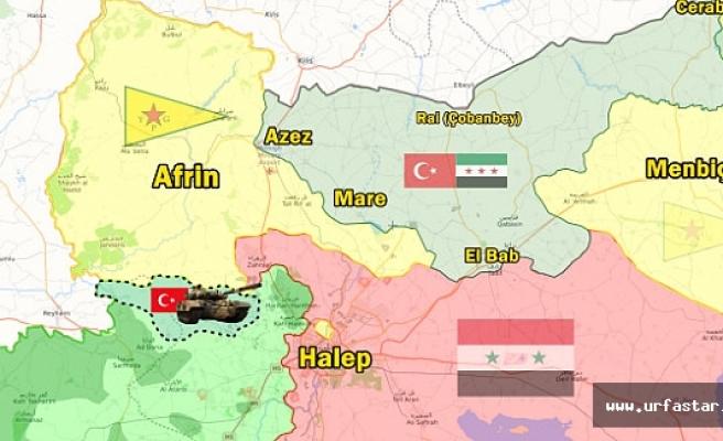 Afrin Harekatında harita değişiyor...