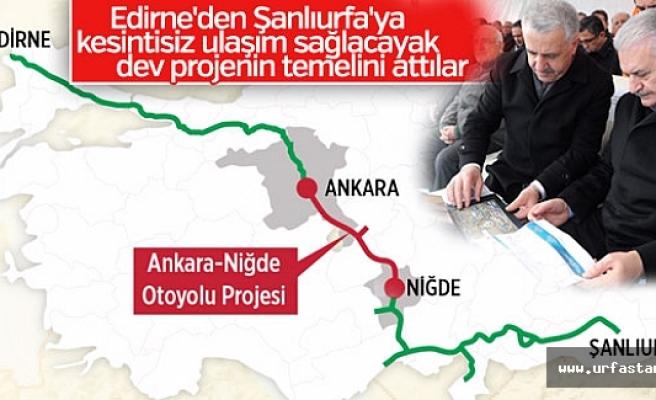 Başbakan Yıldırım açıkladı! Edirne'den Urfa'ya...