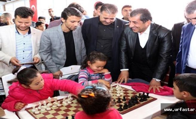 Ceylanpınar'da satranç kursu açıldı