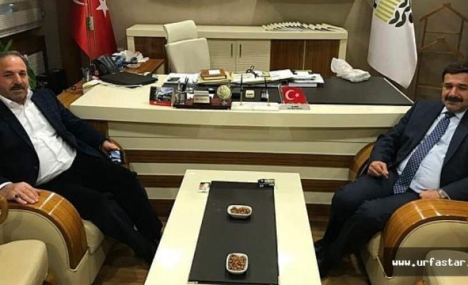 Vekil Özcan, yeni atanan Akay'ı ziyaret etti