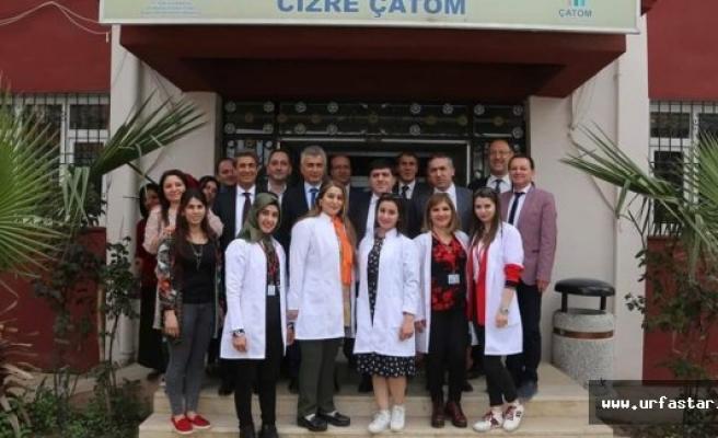 Başkan Cizre'de...