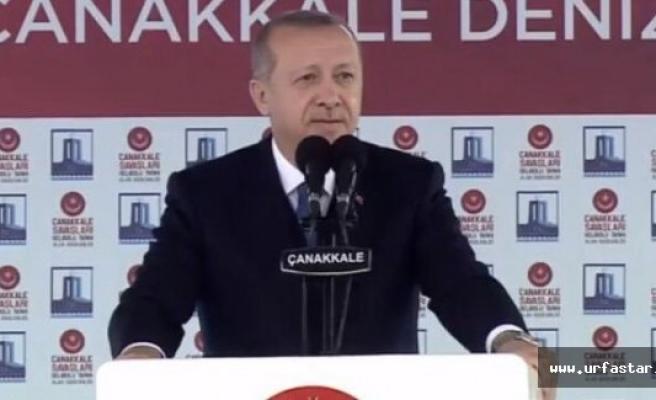 Çanakkale'de Afrin'i açıkladı...