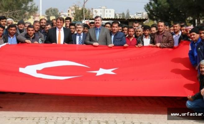 İşçi Dostu Başkan Ayhan'a Teşekkür Plaketi