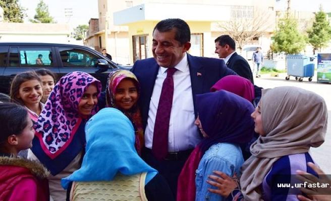 Şehit Yolcu okulunu ziyaret etti
