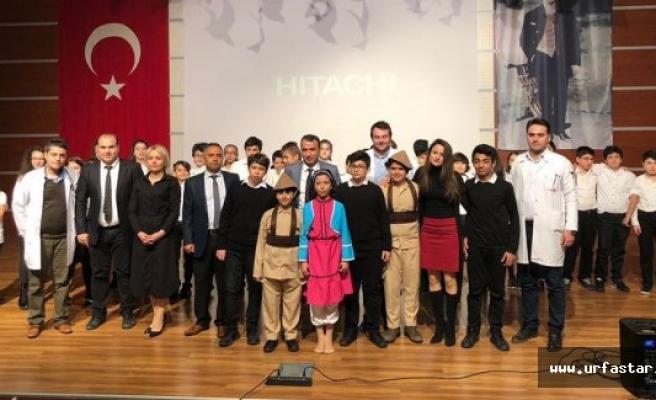 TED Kolejinde Çanakkale ruhu yaşandı