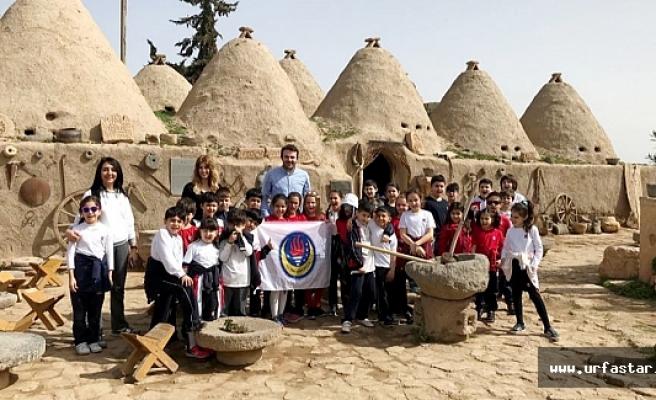 TED'li öğrenciler Harran'da tarihe dokundular...