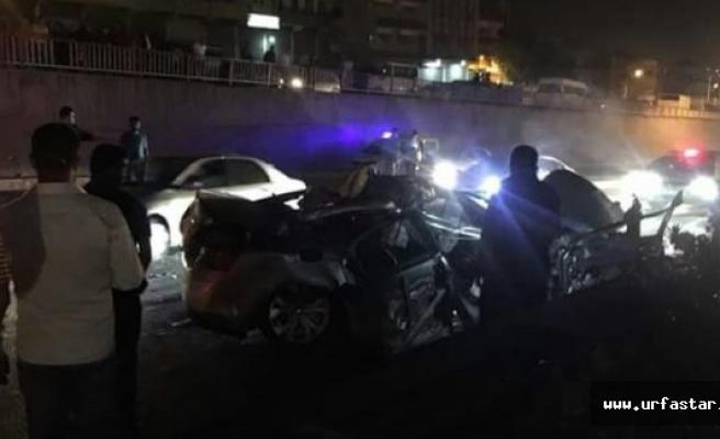 Akabe yolunda feci kaza