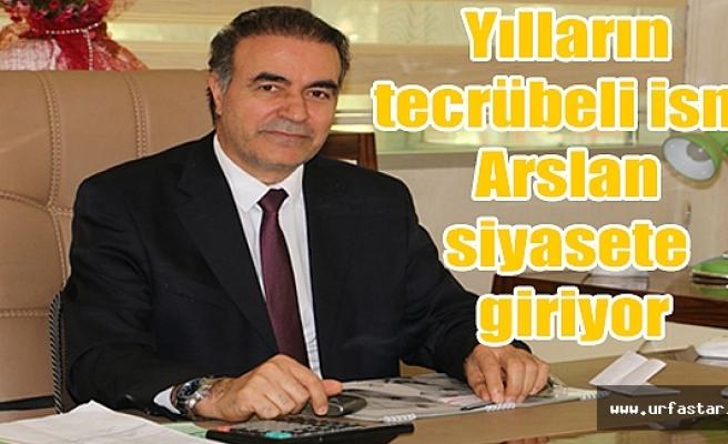 Dr. Faruk Arslan Kararını verdi