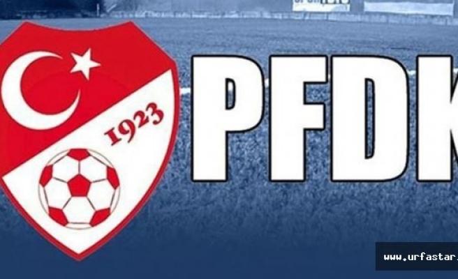 PFDK'dan Urfaspor'a ihtar!