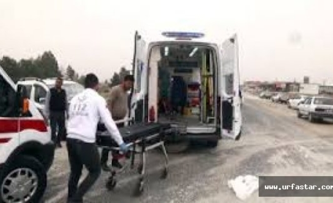 Urfa'da Halk Otobüsü İle Minibüs Çarpıştı!