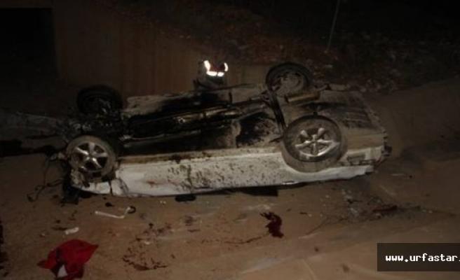 Şanlıurfa'da Trafik Kazası: 1 Ölü, 4 Yaralı