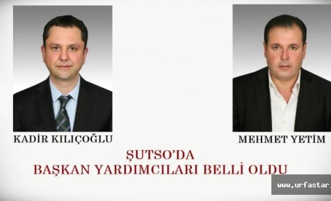 ŞUTSO YARDIMCILARI BELLİ OLDU