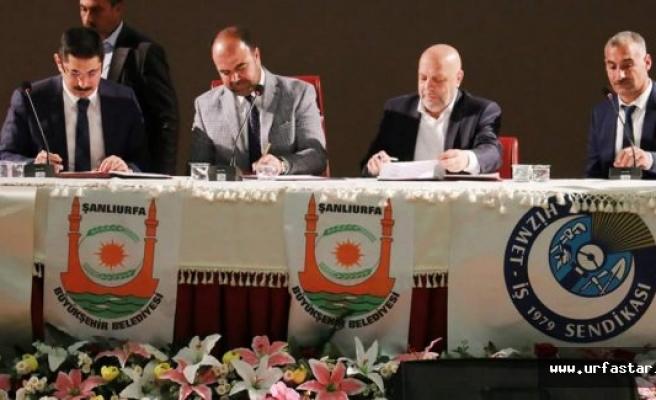 Urfa'da toplu sözleşme sevinci