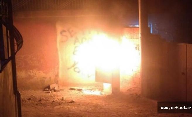 Viranşehir'de Kaçak Elektriği Önleyen 55 Pano Tahrip Edildi