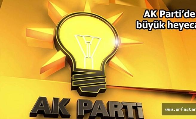 AK Parti'de adayların temayül numaraları belli oldu