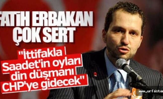 Erbakan'dan CHP için flaş sözler