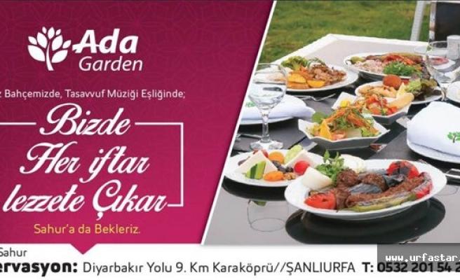 Ramazan lezzeti Ada Garden'da...
