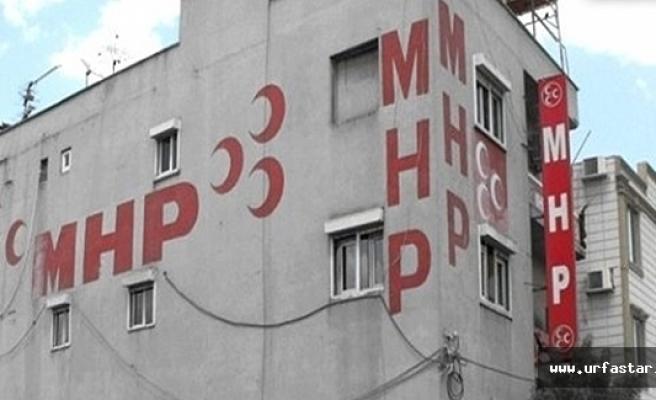MHP Urfa adayları için karşılama töreni yapılacak