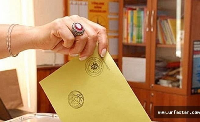 Urfa seçmen sayısı açıklandı