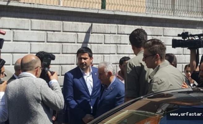 Başbakan Suruç'ta Yıldız'a başsağlığı diledi