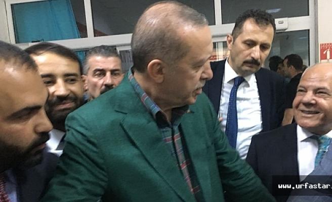 Önkol mesajını Erdoğan'a iletti...