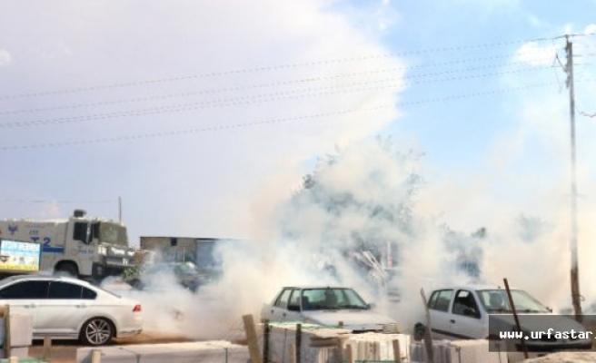 Suruç'taki Cenazede HDP'lilere polis müdahalesi..