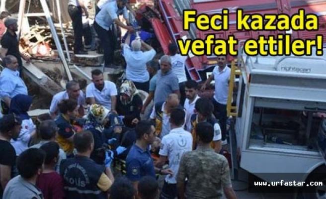 Üç kişi Urfa'da toprağa verildi