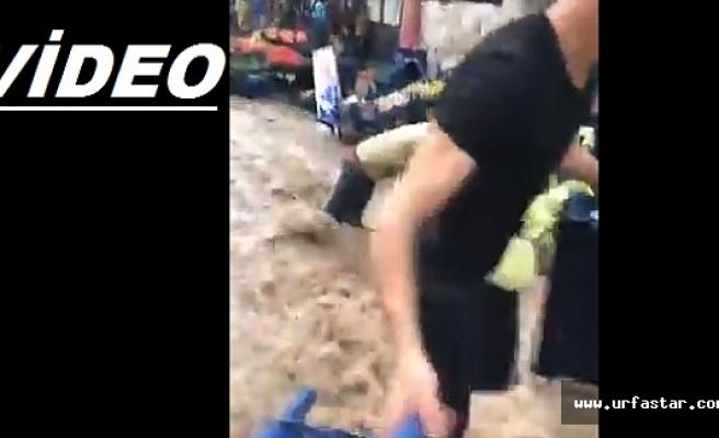 Viranşehir'i sel vurdu..