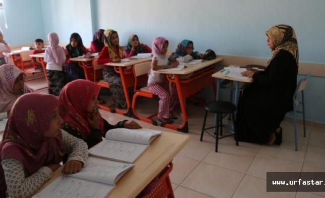 Eyyübiyeli çocuklar bu kurslarda yetişiyor